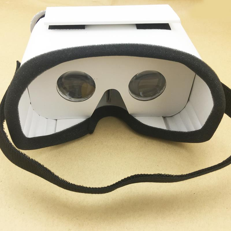 Light Castle Google Cardboard Style Virtual Reality VR BOX II Glasses For 3.5 - 6.0 inch Smartphone Glass for iphone for samsung 3