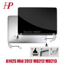 Используется натуральная A1425 ЖК-экран в сборе для Apple MacBook Pro 13 »Retina A1425 ЖК сборки 2012 MD212 MD213 2560*1600
