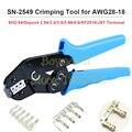 CNLX SN-2549 обжимные инструменты для AWG28-18 (0 08-1 0 мм2) XH2.54/Dupont 2 54/2 8/3 0/3 96/4 8/KF2510/JST обжимные плоскогубцы