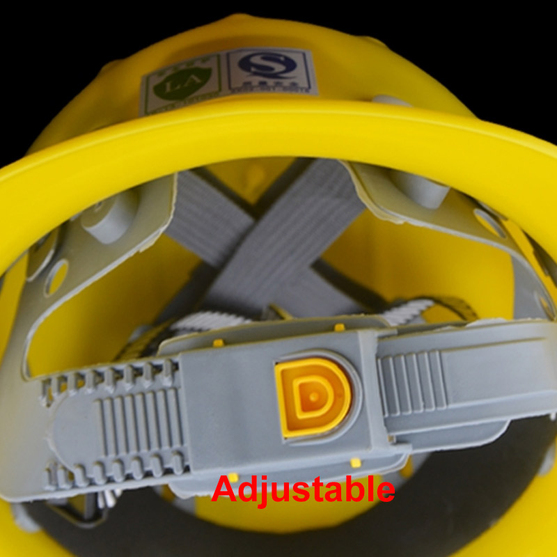 Image 4 - Safety Helmet Sunshade Rainproof Wide brimmed Hard Hat Labor insurance Construction Work Protection Helmet Logo Print Service-in Safety Helmet from Security & Protection
