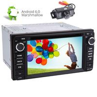 Android Stereo For TOYOTA Quad-core in Dash 6.2 inch Digital Headunit GPS Navigation Bluetooth CD DVD 1080P Video Player FM AM