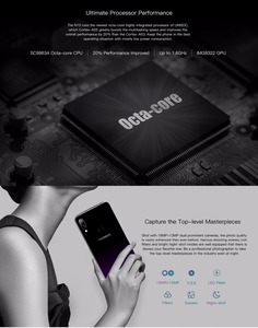 Image 5 - DOOGEE N10 Mobile Phone 16.0MP Front Camera 3360mAh Android 8.1 4G LTE Octa Core 3GB RAM 32GB ROM 5.84inch FHD+ 19:9 Display OTG