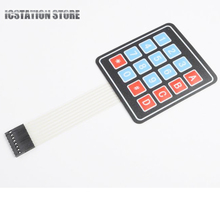 10Pcs 16 Key 4 x 4 Membrane Switch Keypad 4×4 4*4 Matrix Array Matrix keyboard for Arduino AVR PI Smart Car