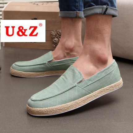 ФОТО Spring Summer Look Casual shoes for men,Fashion slip on Leisure shoes Men Flats
