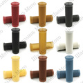 """9 Color Vintage Cafe Racer 1"""" 25/28mm Motorcycle Handlebar Grip Grips for HARLEY SPORTSTER IRON 883 1200 TRIUMPH Free Shipping"""