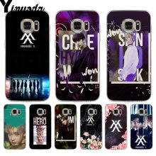 Yinuoda Monsta X KPOP Boy Group soft tpu phone case cover for samsung galaxy S9 S7 S6 edge plus S5 S9 S8 plus Note 9(China)