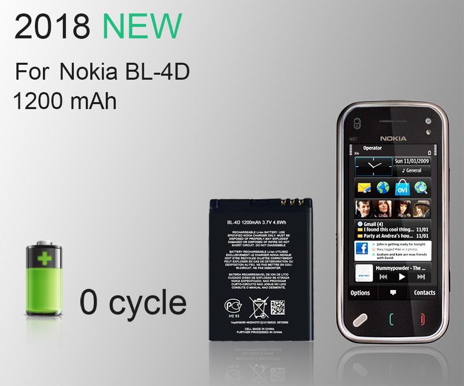 2018 new horug 100 original bl 4d phone battery for nokia bl 4d bl rh aliexpress com Deteccion De Defectos En Piezas Salones De Quince En Aurora
