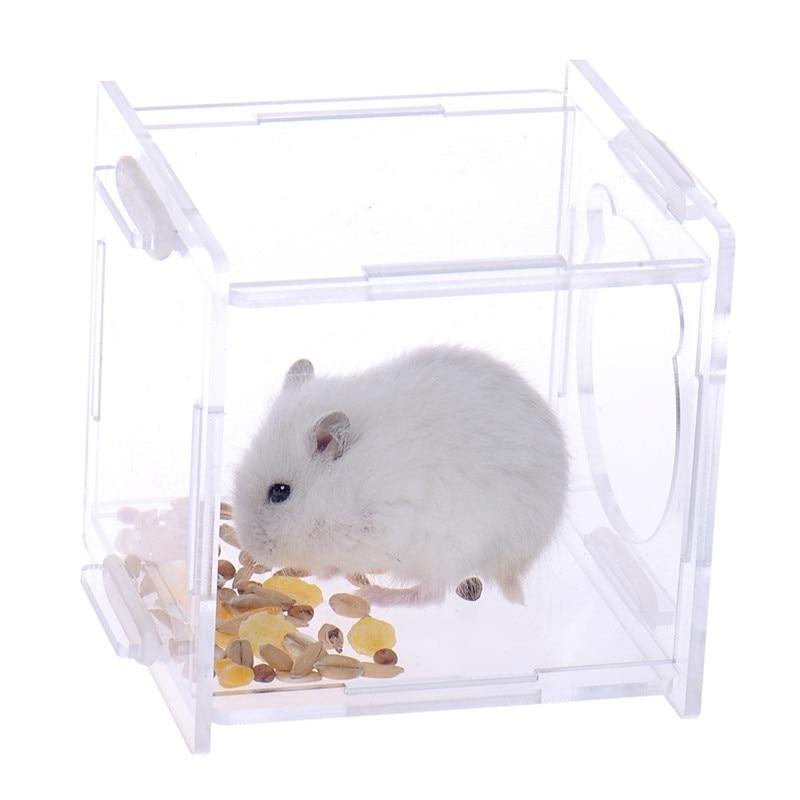 2017 Kafazë të Kafazëve të Re Portable Hamster Pet furnizojnë me - Produkte për kafshet shtëpiake - Foto 3