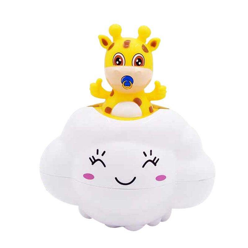 Baby Toys Bathroom Play Water Bath Toys Rain Clouds Deer Piggy Bathroom Shower Beach Play Water Cartoon Educational Toys Shower in Bath Toy from Toys Hobbies