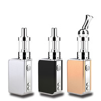 Electronic Cigarette Hookah Vaporizer Vapor Storm Mini Box Mod 10W E cigarette Vape Kit 1050mah Battery in EC Atomizer Tank