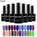 168 Colors Gel Nail Polish UV Gel Polish Long-lasting Soak-off LED UV Gel Color Hot Nail Gel 10ml/Pcs Nail Art Tools-GB3