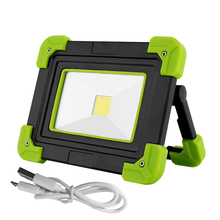 цены 10W Led Portable Spotlight COB LED Flood Light USB LED Worklight Lamp Camping Lantern Flashlights for Outdoor Hunting Emergency