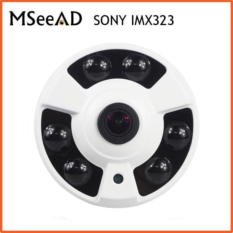 AHD 1080P Camera 2MP Camera SONY IMX323 HD Indoor Night Vision Surveillance Camera Security Camera OSD Menu CVI/CVBS/TVI/AHD