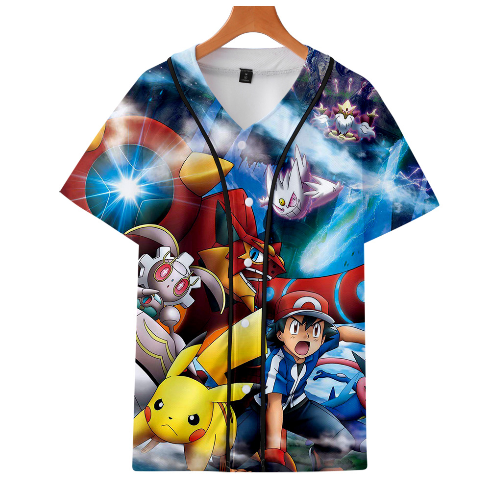 luckyfridayf-kpop-2019-new-font-b-pokemon-b-font-3d-print-anime-pikachu-short-sleeve-baseball-t-shirt-uniform-men-women-casual-jacket-clothes