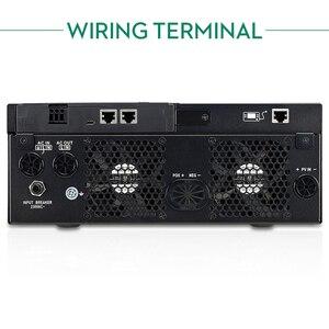 Image 4 - 블루투스 인버터 3000W 500Vdc PV 230Vac 24Vdc 80A MPPT 태양열 충전기 지원 모바일 모니터링 USB LCD 제어