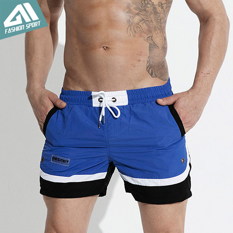 Desmiit Patchwork Men's   Board     Shorts   Summer Beach Swimming   Shorts   Athletic Sport Running Gym Male   Shorts   Home   Shorts   Men DT74