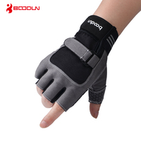 Boodun Weight Lifting Gym Gloves Men Sports Gloves Fitness Workout Exercise Training Protect Wrist Weightlifting Gloves Dumbbell