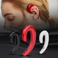 Virwir K8 костной проводимости Спортивные наушники Bluetooth Гарнитуры Hands free водитель автомобиля наушники крючок беспроводные наушники с микрофоном