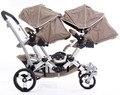 Близнецы детская коляска спереди и сзади складные детские коляски близнецы автомобиля