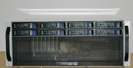 4U 8 disk hot plug ultra short storage server monitoring machine NSA case 4U industrial control short box yt2008 2u8 disk hot swap storage server monitoring storage hard disk video case