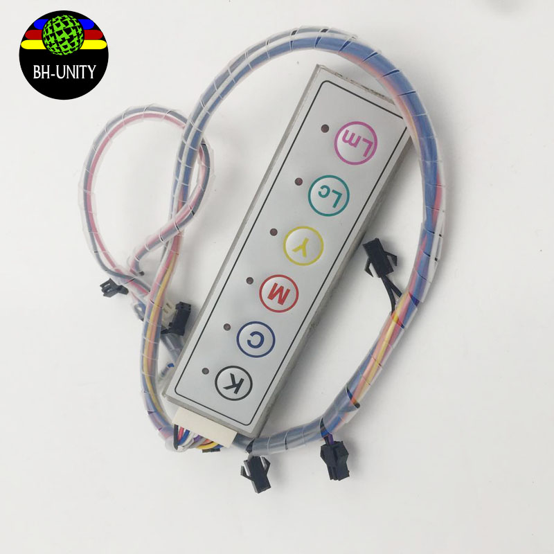 цены High quality Inkjet printer 6 color ink pressure switch for infiniti/challenger/phaeton printers