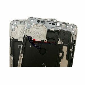 Image 3 - Oryginalna przednia rama obudowa do samsunga J7 2016 J710F J7108 Panel LCD wewnętrzna ramka Case i przyciski + klej