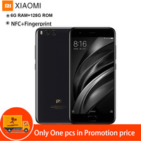 Xiaomi Mi 6 4G Android Smart Cell Mobile Phones 5.15'' MIUI 8 Snapdragon 835 Octa Core 2.45GHz 6GB 128GB Fingerprint Dual Camera