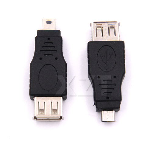 10pcs/set OTG 5pin F/M Mini Micro USB Changer Adapter Converter Male to Female USB Gadgets Connectors High Quality Multan
