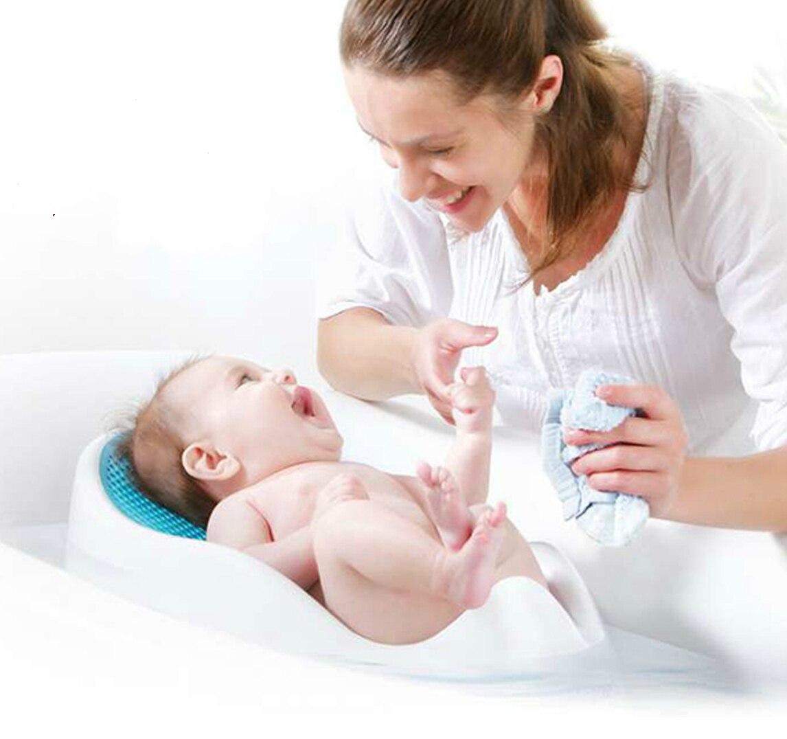 Vasca Da Bagno Neonato.Us 121 27 Il Neonato Morbido Baby Shower Bagno Confortevole Maglia Aeromobili Da Letto Bagno Vasca Da Bagno Bambino Doccia Vasca Da Bagno In