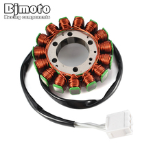 BJMOTO Motorcycle Coil Magneto Stator for Kawasaki ZX600 Ninja ZX-6R ZX 6R 2007 2008 21003-0049 motorcycle ignition magneto stator coil for kawasaki ex250 ninja 250r 2008 2012 magneto engine stator generator coil accessories