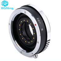 Camera Lens Adapter Ring Parts With Aperture For Canon EOS EF Mount Lens To FX For