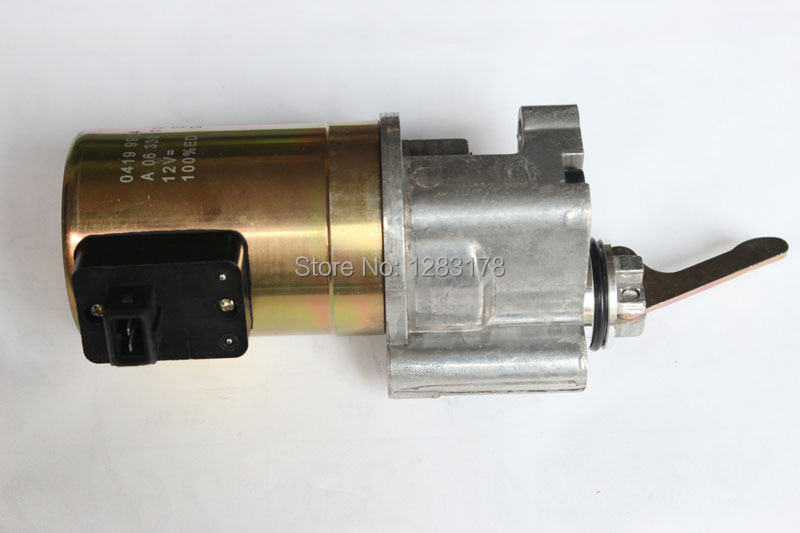For Deutz 1013 Fuel Shutdown Solenoid Valve 0419 9902 / 04199902 12V deutz 1013 fuel shutdown solenoid valve 0419 9902 04199902 12v