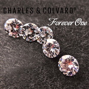 Image 5 - Real Charles Colvard Moissanite Loose Stone With Certificate Forever One VVS VS DEF 4.5mm 0.29CT Excellent Cut Positive Testing