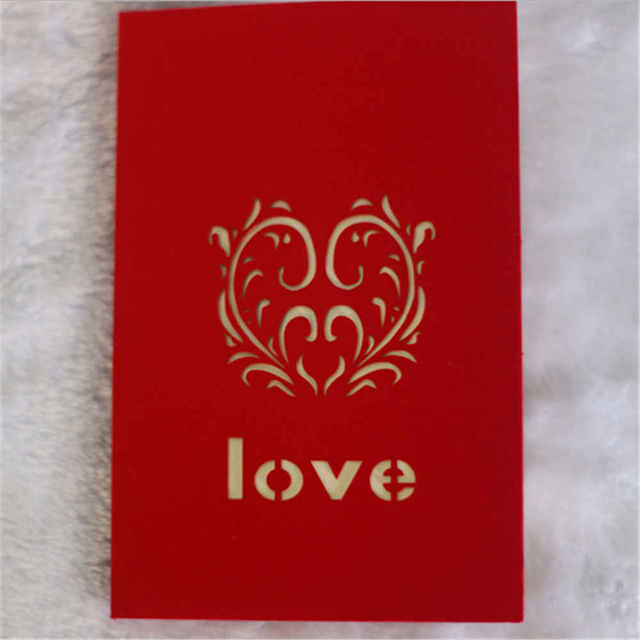 Valentines day 3d greeting cards handmade paper cut folding gift valentines day 3d greeting cards handmade paper cut folding gift card postcards m4hsunfo