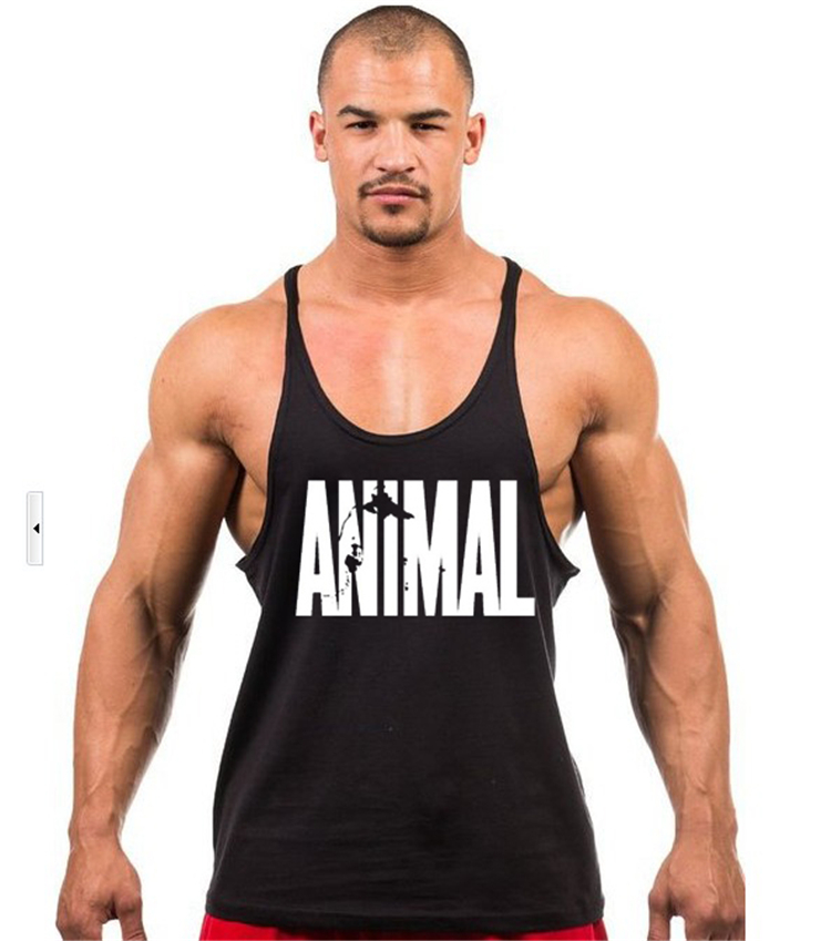 Aliexpress Animal Gyms Stringers Mens Tank Tops Sleeveless Shirt Tanktops Bodybuilding And Fitness Men S Singlets Workout Clothes From