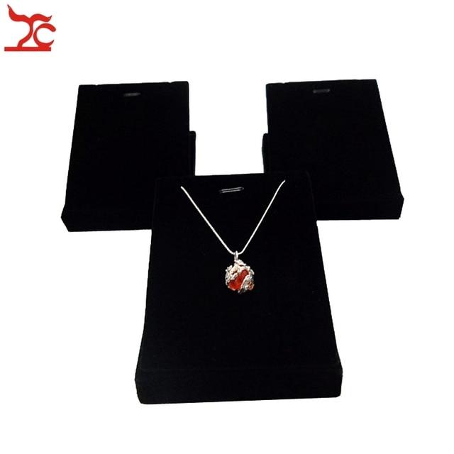 promotional 3pcs lot black velvet jewelry display prop largre