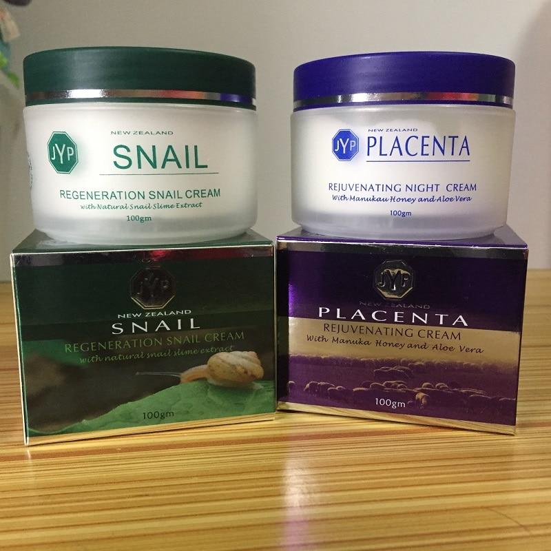 100 NewZealand Regeneration Snail Day Cream Sheep Placenta Night Cream Anti wrinkle cream Face care Moisturizing
