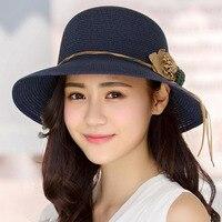 Flower sun hat summer sun hat ladies straw hat