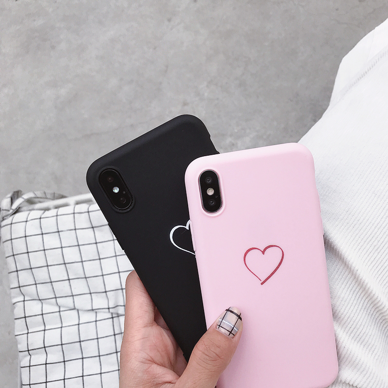 Cute Love Heart Print Back Cover For Samsung Galaxy J3 J5 J7 2016 2017 EU Pro J2 J6 Prime Case Soft Silicone Coque