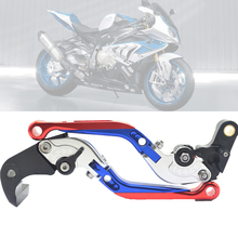For BWM S1000RR S 1000 RR S 1000RR 2010-2014 Motorcycle Accessories motorbike Folding Extendable Brake Clutch Levers cnc adjustable motorcycle brake clutch levers blue brake clutch levers for bmw s1000rr s 1000rr s 1000 rr 2015 2016