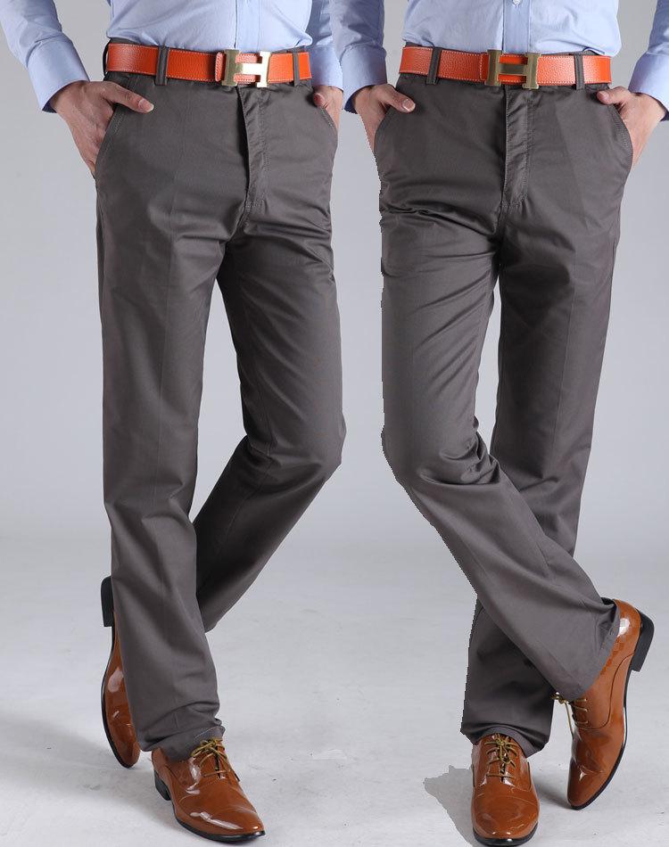 Online Get Cheap Mens Cotton Chino Trousers -Aliexpress.com ...
