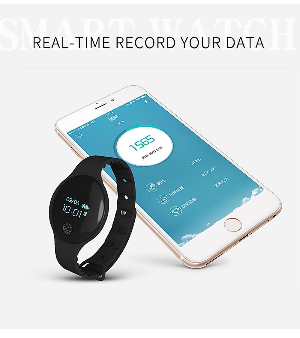 Reloj inteligente podómetro Bluetooth 6