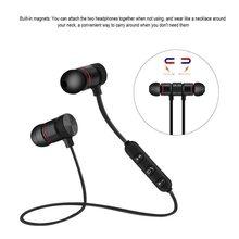 M5 Stereo Mini Auricolare Bluetooth Senza Fili Cuffia Auricolare Con  Microfono per iPhone Sport Magnet Bluetooth ad786385b2f8