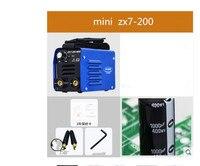 Euro quality Mini ARC 200 single phase 220V inverter arc welding machine MMA portable welder Free shipping