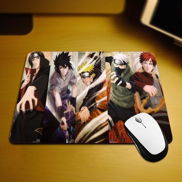 Naruto Top Selling Best Mouse Pads 18*22cm and 25*29cm