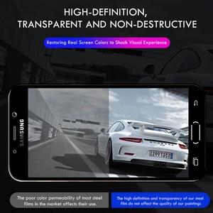 Image 5 - 3 pièces Protecteur Décran 9H 2.5D Verre Trempé Pour Samsung Galaxy A7 A9 2018 J6 A6 A8 J4 Plus Verre Protecteur pour Samsung A5 2017
