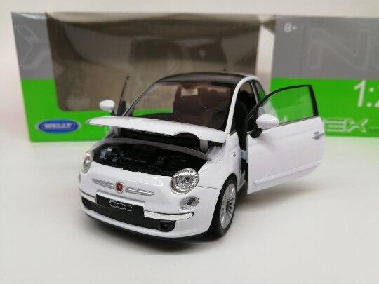 FIAT 500 BIANCO 1:43 Atlas modello di auto