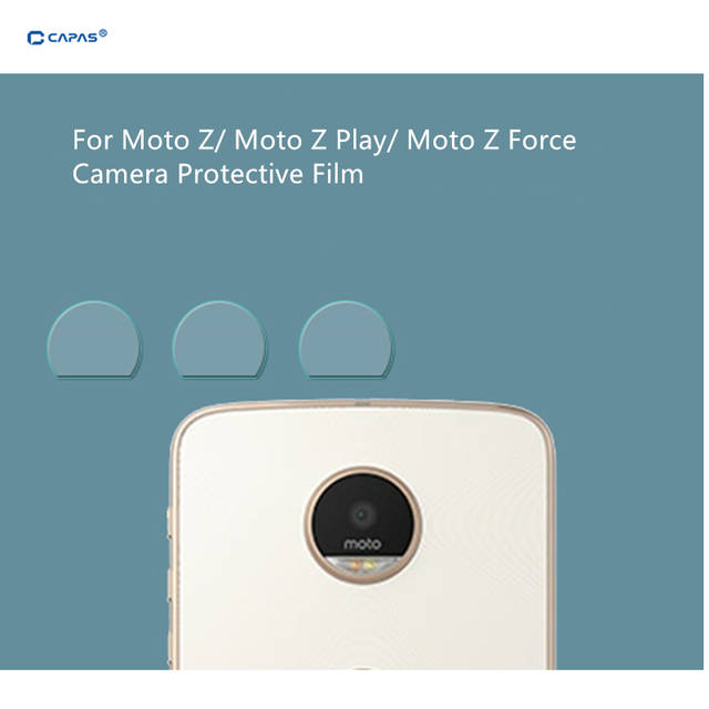 US $3 98 |3pcs For Motorola Moto Z Play / Moto Z / Moto Z Force Droid Rear  Camera Glass Screen Protector Back Camera Clear Protective Film-in Phone