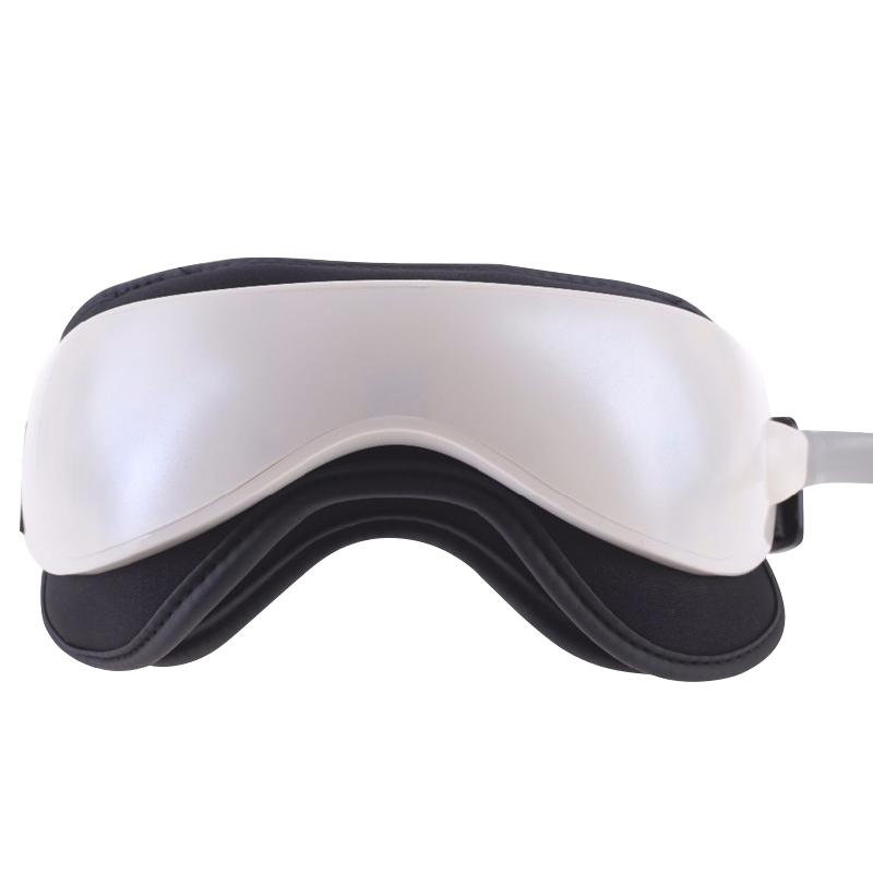 Jinkairui vibración infrarrojos calentador de presión de aire masajeador de ojos gafas de masaje dispositivo con funciones de mp3 relajación cuidado de la salud