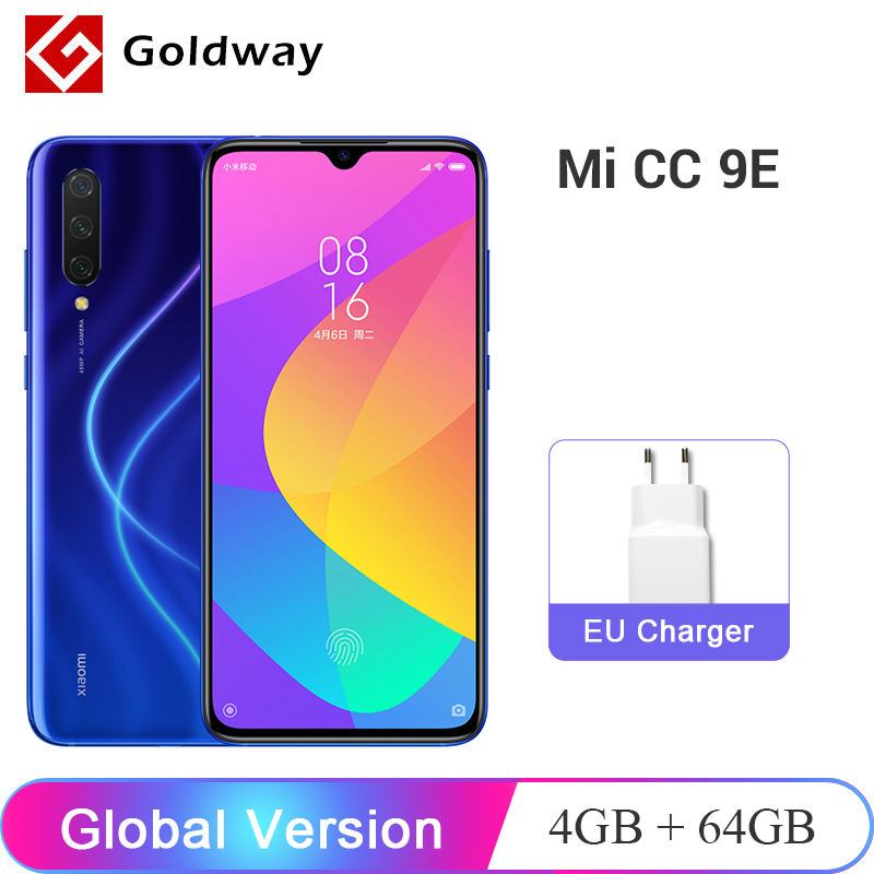 "Global Version Xiaomi CC9E 4GB RAM 64GB ROM Mobile Phone Snapdragon 665 Octa Core 6.088"" AMOLED Screen 48M+32MP Camera 4030mAh(Hong Kong,China)"